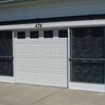 Sliding Two Car Garage Screen Doors Sliding Doors