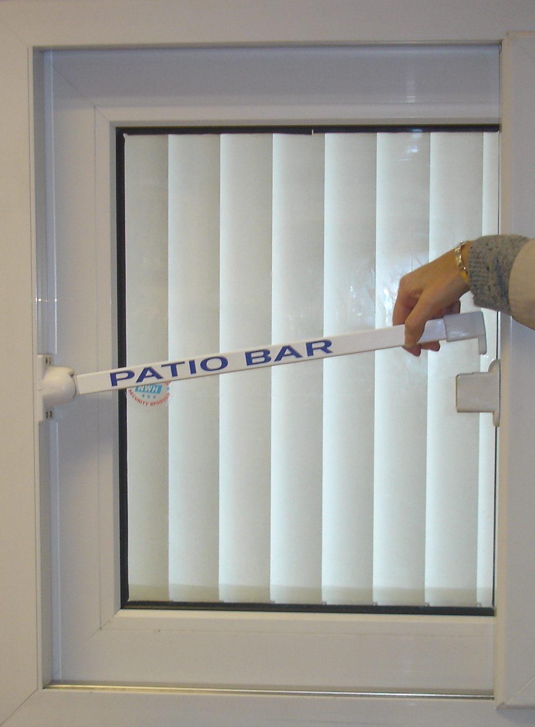 best sliding glass door security bar