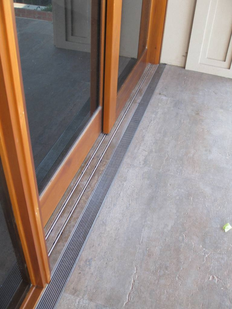 Sliding Door Without Floor Track Sliding Doors