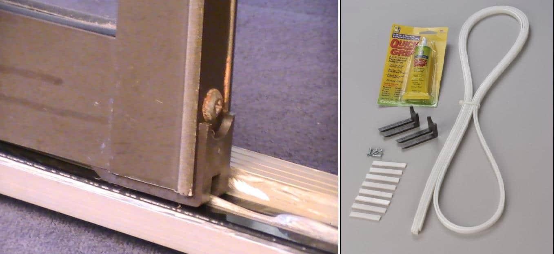 sliding glass door weather seal