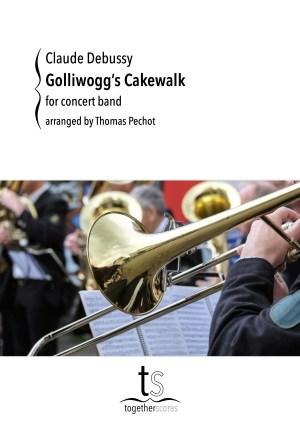 Partitions Orchestre Harmonie Golliwogg's Cakewalk Debussy