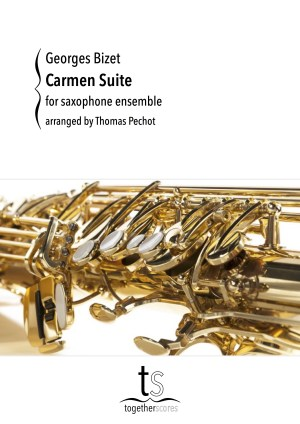 Partituren Bladmuziek Saxofoon Ensemble Carmen Suite