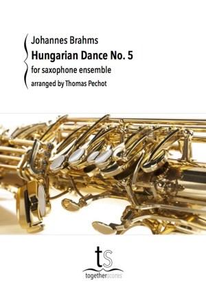 Partitions Ensemble Saxophones Danse Hongroise No. 5
