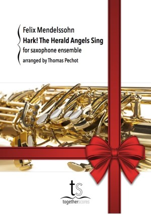 Partition Ensemble Saxophone Hark! The Herald Angels Sing