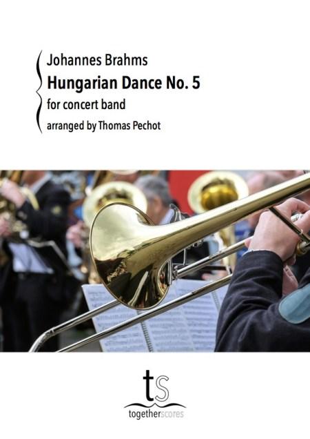 Partitions Orchestre Harmonie Danse Hongroise Brahms