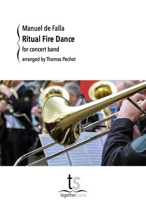 Partition Orchestre Harmonie Danse Rituelle Feu De Falla