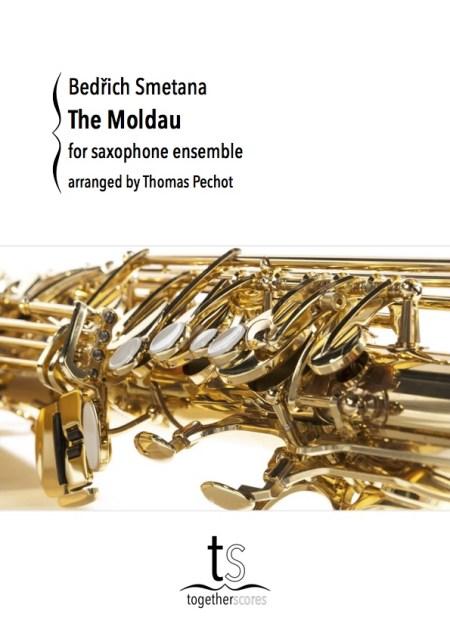Partituur Bladmuziek Saxofoon Ensemble Moldau Smetana