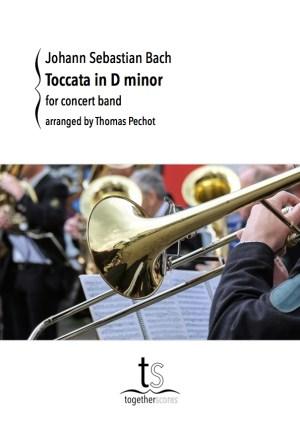 Partition Orchestre Harmonie Toccata Bach