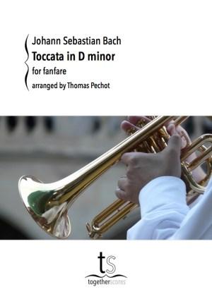 Partition Fanfare Toccata Bach