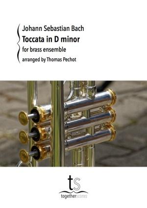 Partiton Ensemble Cuivres Toccata Bach