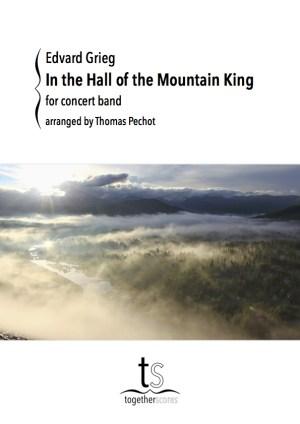 Partition Orchestre Harmonie Dans l'antre du roi de la montagne Grieg