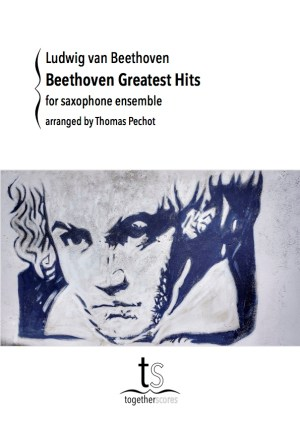 Partition Ensemble Saxophones Beethoven Greastest Hits