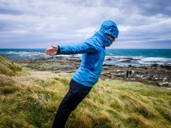 Playing chicken with the wind - how far do you dare to lean?!