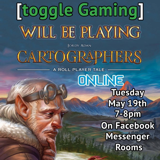 [toggle Gaming] plays Cartographers!