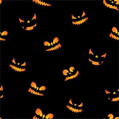 Sfondo Halloween zucca mostro