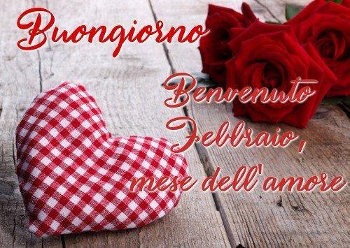 Benvenuto Febbraio, immagini buongiorno nuove gratis per WhatsApp e Facebook