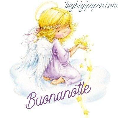 ANGELI BUONANOTTE belle e nuove immagini gratis WhatsApp