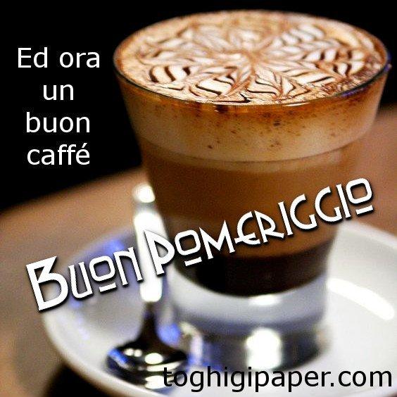 Buon pomeriggio caffè immagini nuove, gratis, per WhatsApp, Facebook, Pinterest, Instagram, Twitter