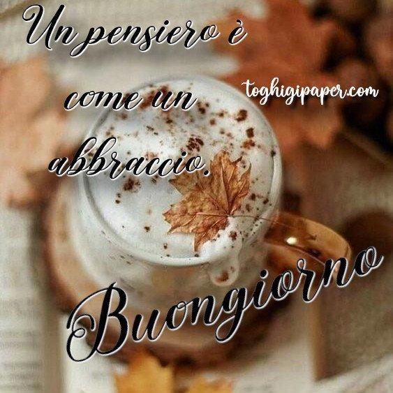 Buongiorno autunno buona giornata immagini nuove gratis WhatsApp Facebook Instagram Pinterest Twitter