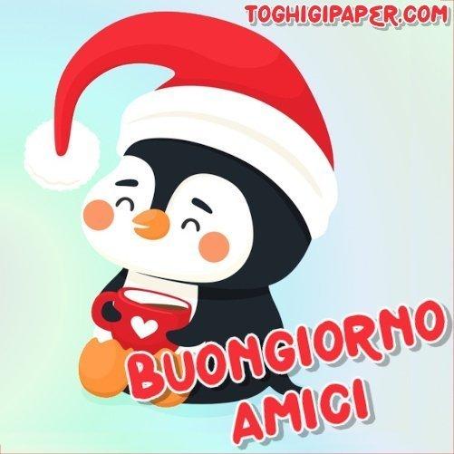 Natale buongiorno immagini gratis per Facebook, WhatsApp, Instagram e Pinterest