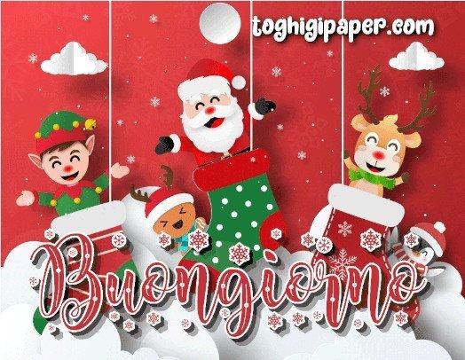 Natale buongiorno calze della befana, buona epifania 6 gennaio immagini nuove gratis per Facebook, WhatsApp, Instagram e Pinterest