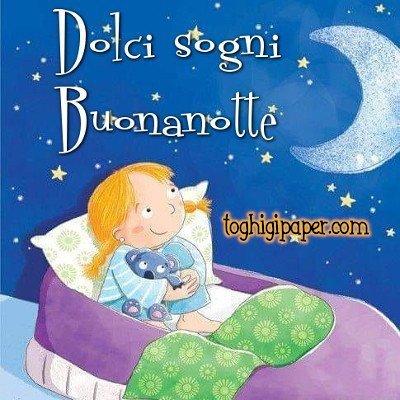 Dolci sogni buonanotte nuove immagini gratis per Facebook e WhatsApp