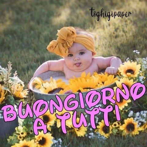 Bambini buongiorno immagini nuove gratis WhatsApp Facebook Instagram Pinterest