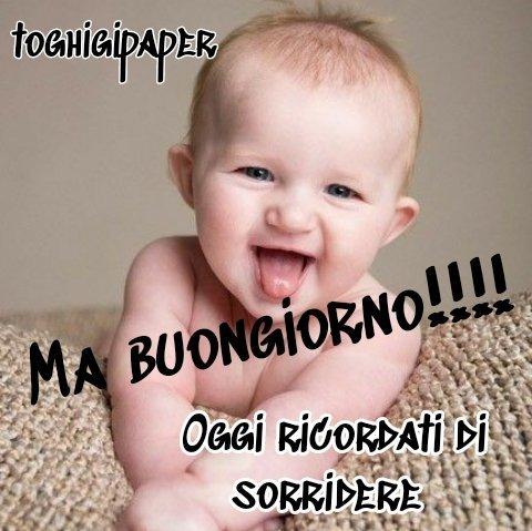 Buongiorno bambino immagini buona giornata buon giorno belle divertenti gratis WhatsApp Facebook nuove belle