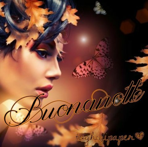 Buonanotte autunno buona notte bellissime immagini gratis WhatsApp Facebook nuove belle