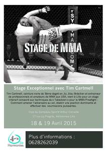 Tim Cartmell à Lille 2015 Affiche