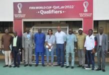 Visite FIFA au Togo