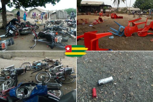 Togo, Incivisme au Camp : Soldats casseurs