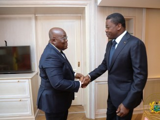 President Akufo Addo with President Faure Gnassingbe