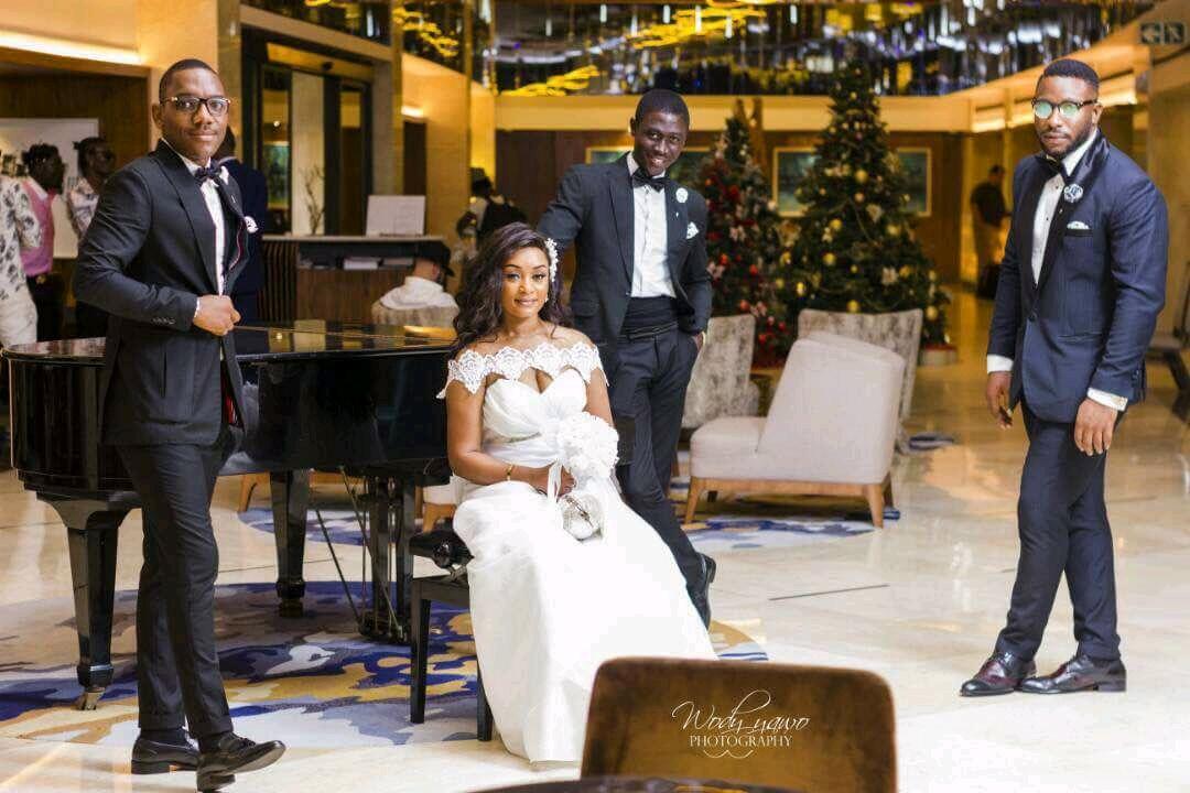 IMG 20171218 WA0039 2 Pepole: découvrez les incroyables photos de mariage du rappeur Etane!