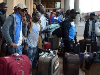 migrants 2 Togo: plus d'une centaine de migrants en Libye rapatriés au pays