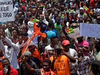manif m Togo: net recul de la liberté d'expression en 2017