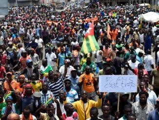 manif nouvo Crise au Togo : le sort des manifestants togolais arrêtés au Ghana
