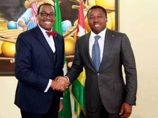 BAD Togo BAD: le Togo bientôt membre officiel du Fonds Africa 50