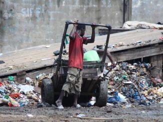 poubelle Lomé: le quartier Nukafu, un véritable nid d'insalubrité