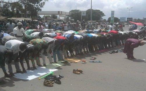 853245 3 Manifestions du Front Citoyen Togo Debout :Bè-Gakpoto transformé en lieu de prière