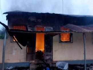 Incendie moyen mono Législatives 2018 : la CELI de Moyen-Mono incendiée