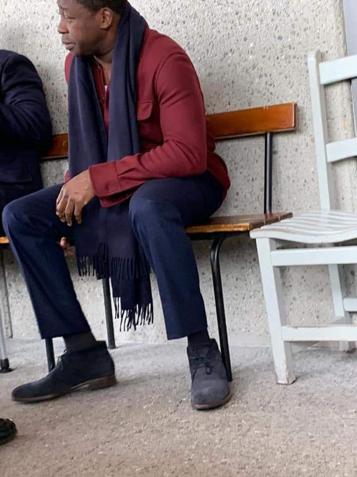 IMG 20191002 WA0022 Faure Gnassingbé aperçu à Paris dans un « sale état» [Vidéo]