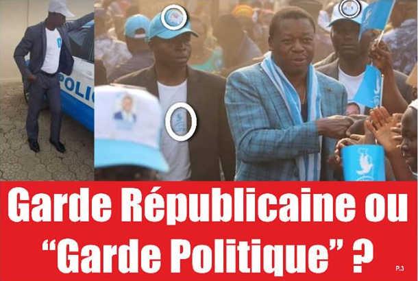 Militaires Faure Scrutin du 2020: des militaires-militants pour protéger Faure Gnassingbé
