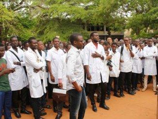 Internes des FSS Centres de Santé du Togo: les internes lancent une grèves