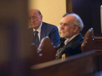 Proces ancien president banque IOR Vatican Angelo Caloia detournement fonds 9 2018 Vatican photo bureau presse Vatican 1 729 486