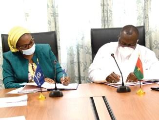Lome Ouaga 145 milliards FCFA pour le corridor Ouagadougou-Lomé