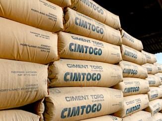 Togo voici le nouveau prix du ciment de CIMTOGO Prix du ciment au Togo: le Ministre Adedze rejette la hausse et rassure les consommateurs