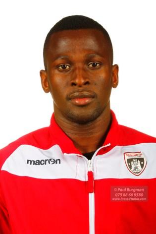 22/10/2016. Guildford City FC Squad Photos. Mario Embalo