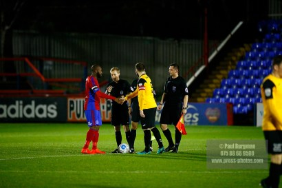 12/12/2016. Aldershot Town v East Thurrock United FC. FA Trophy.