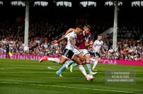 17/04/2017. Fulham FC v Aston Villa. Match Action. FulhamÕs Ryan FREDRICKS